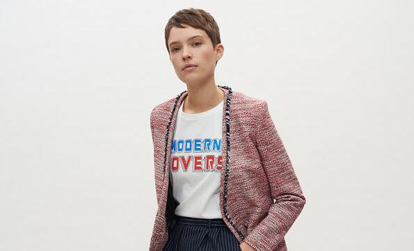 Claudie Pierlot. Let's tweed again